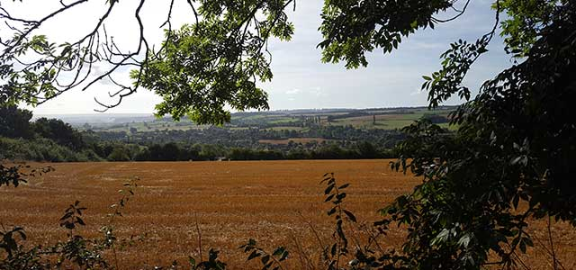 Autumn View over Chipping Campden