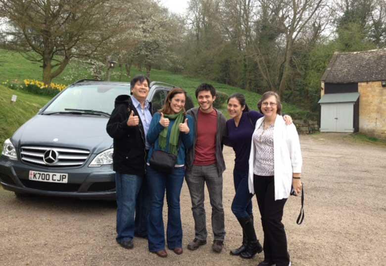 Steve, Amanda, Joseph, Rebecca and Debbie - The Mount Inn, Stanton