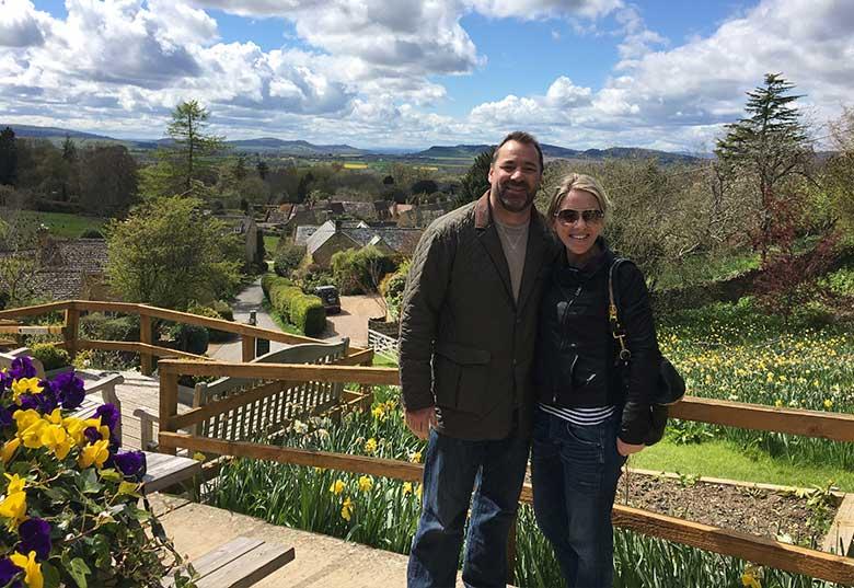David and Amy - Mount Inn, Stanton
