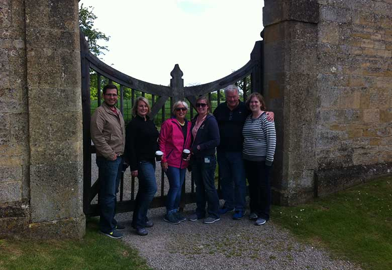 Ralph Carl & Family in Chipping Campden