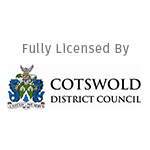 Fully Licensed by Cotswold District Council