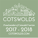 We're a member of Cotswolds Tourism