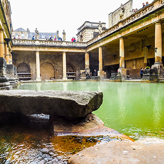 Southern Cotswold Tour Thermae Bath Spa