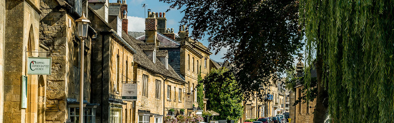 Chipping Campden High Street - The Cotswolds - by Steve Immerman
