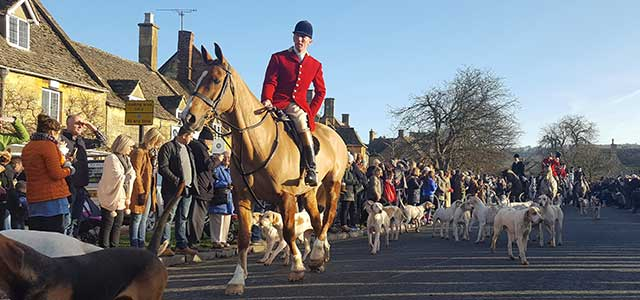 Winter Boxing Day Hunt in the Cotswolds