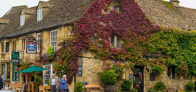 Burford Autumn Leaves by Steve Immerman