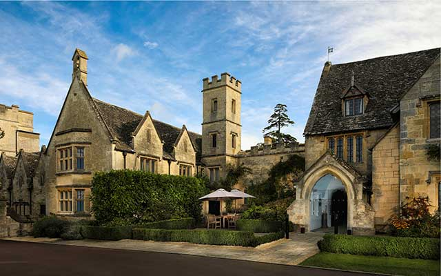 CJP Tours recommends Ellenborough Park, Cheltenham