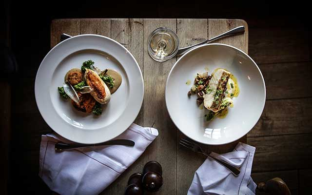 CJP Tours Recommended Accommodation - The Ebrington Arms award winning food